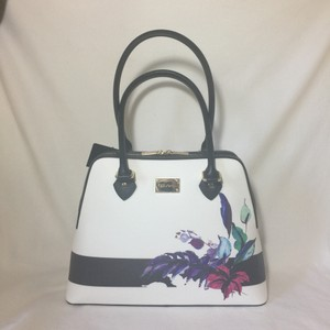 St. John Satchel in Black and White