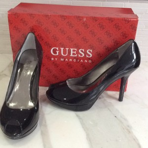 Guess By Marciano Black patent Platforms