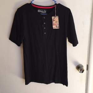 Lee Cooper T Shirt Black