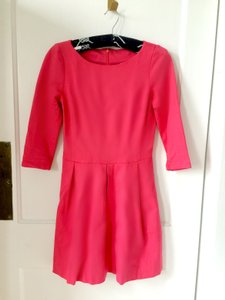 Banana Republic short dress Hot Pink Preppy on Tradesy