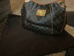 Louis Vuitton Leather Monogram Made In France Hobo Bag
