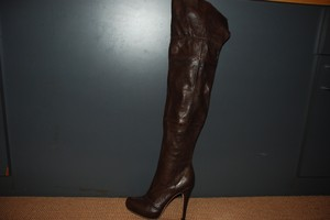 Report Signature Brown Leather Boots
