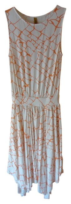 Rachel Pally short dress White/Orange on Tradesy