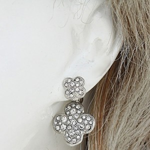 Signature Style Double Sided Clover Crystal Earring