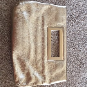 Michael Kors Gold Clutch
