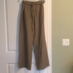 Vince Wide Leg Pants Khaki