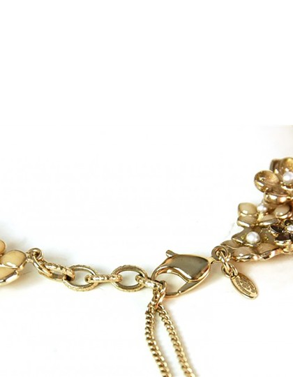 Chanel Chanel Runway Beige Pague Camelia Bib Necklace