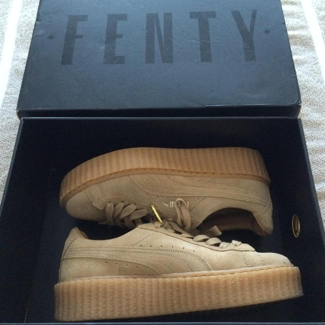 Item - Oatmeal Creepers By Rihanna Sneakers Size US 5.5 Regular (M, B)