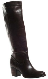 Frye Leather Rory Scrunch black Boots