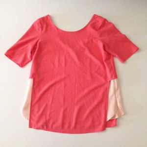 Cooper & Ella Top Light Pink and Pink