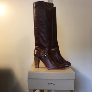 A.P.C. Brown Boots