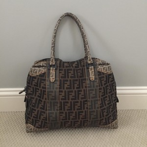 Fendi Tote in Brown And Black