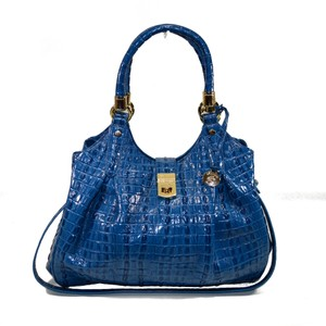 Brahmin Elisa Satchel in blue