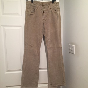 7 For All Mankind Boot Cut Pants Khaki