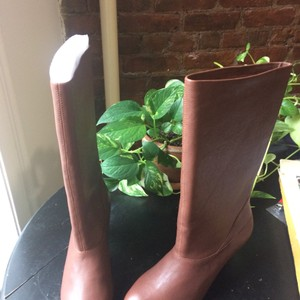 Saks Fifth Avenue Brown/mahogony Boots