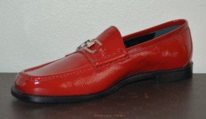 Gucci Leather Red Flats