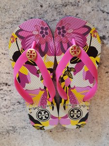 Tory Burch Pink Multi Sandals