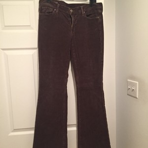 Citizens of Humanity Boot Cut Pants Brown