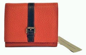 Adrienne Vittadini Adrienne Vittadini Sophia BiFold Wallet Orange Leather