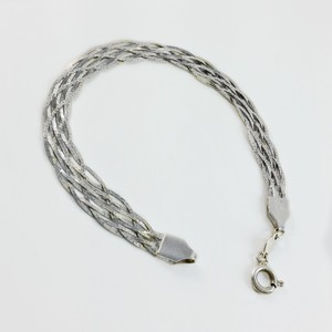 Other Sterling Silver Braided Bracelet 7.5