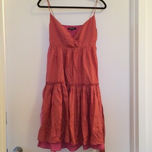 DKNY short dress Pink on Tradesy