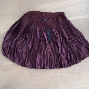 Theory Mini Skirt Purple