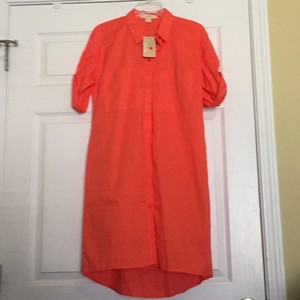 MICHAEL Michael Kors short dress Hot coral on Tradesy