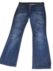 7 For All Mankind Size 26 Rn 115561 Ca 56266 U075sh080u 010670 Boot Cut Jeans-Medium Wash