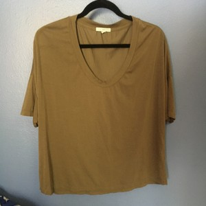James Perse T Shirt Olive Green