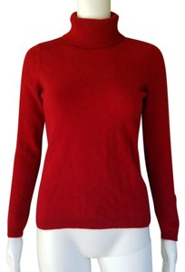 Ann Taylor Cashmere Turtleneck Soft Sweater