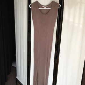 Taupe Maxi Dress by Forever 21