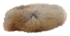 Vintage Golden Brown Fox Fur Headband, Neck Loop, or Collar