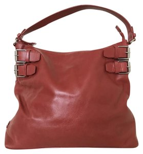 Cole Haan Leather Large Spacious Tote in Red