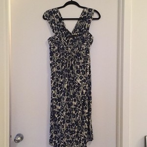 BCBGMAXAZRIA short dress Blue white on Tradesy