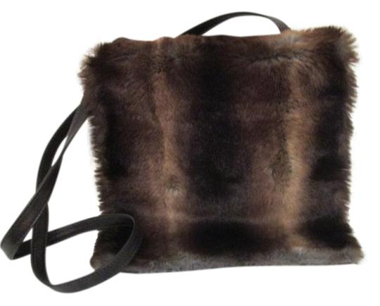 Preload https://img-static.tradesy.com/item/19893963/neiman-marcus-vintage-furblack-cross-body-brown-faux-fur-shoulder-bag-0-2-540-540.jpg