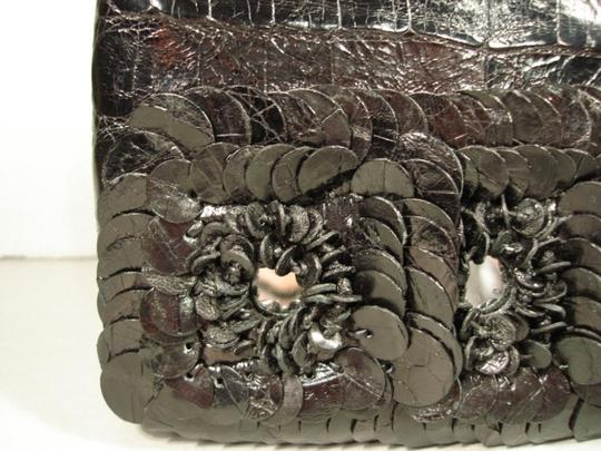 Nancy Gonzalez New Can Be Day Mirrors In Flowers 3 Croc Flowers Shoulder Strap Cross Body Bag Image 3