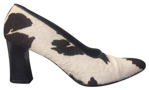 Donald J. Pliner Vintage Cow Calf Leather Pumps