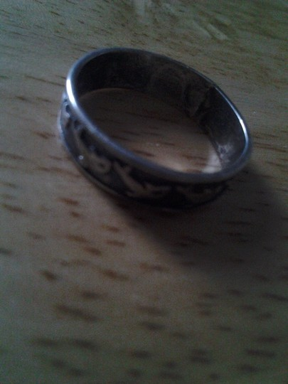 Other Sterling Silver DOLPHIN RING Band Sz 5 VTG Vintage solid 925