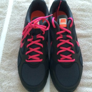 Nike New Never Worn Anthracite/pink Athletic