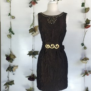 Dress Barn short dress Brown on Tradesy