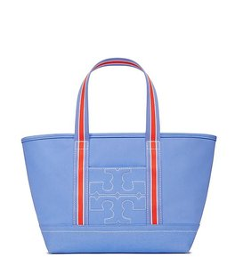 Tory Burch Bombet Bombe T Light Beach Tote in Blue