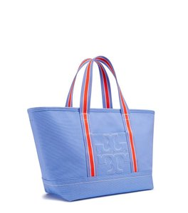 Tory Burch Bombet Bombe T Light Tb Tote in Blue