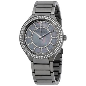 Michael Kors Michael Kors Kerry MK3410 Gunmetal Grey Pave Crystal Glitz Watch
