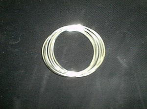 Sterling Silver PLATED Youth Multi-Bangle (8) Bracelet