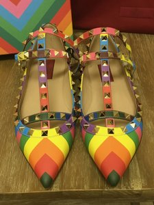 Valentino Multi-color Flats