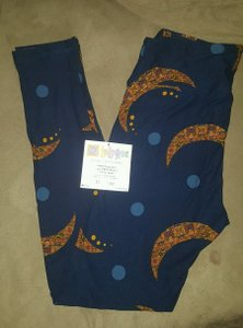 LuLaRoe Moon navy Leggings