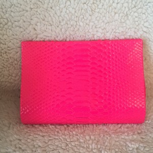 Paige Gamble Neon Pink Clutch
