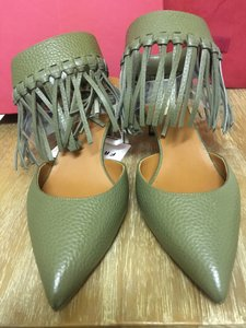 Valentino Military Green Pumps