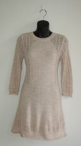 Topshop short dress beige on Tradesy
