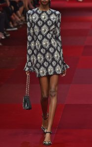 Dolce&Gabbana Stunning Runway Sexy Dress